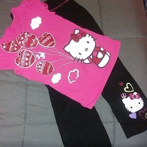 Hello kitty outfit size 4/5